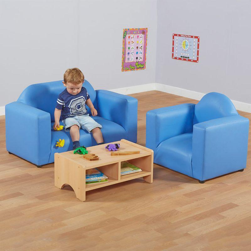 Bērnu mīksto mēbeļu komplekts