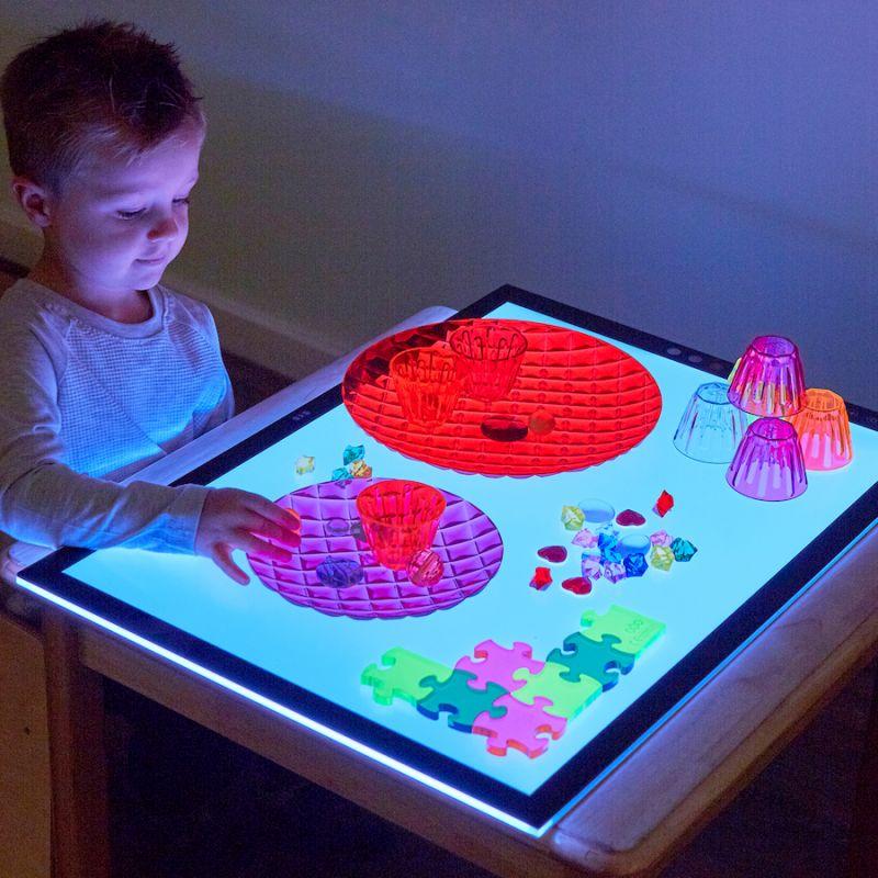 Krāsas mainošā gaismas tāfele A3