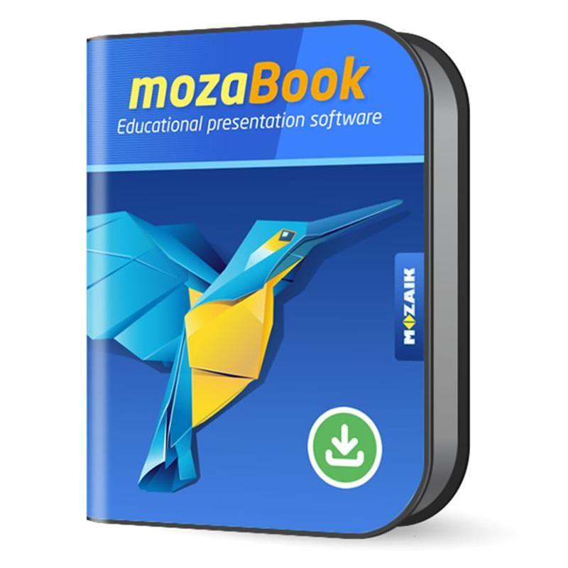 """""""mozaBook"""" programmatūra"""