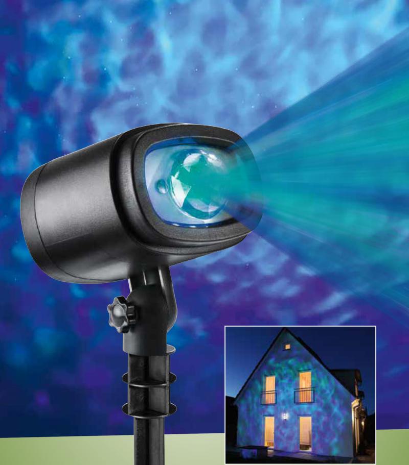 Mākoņu un ūdens projektors