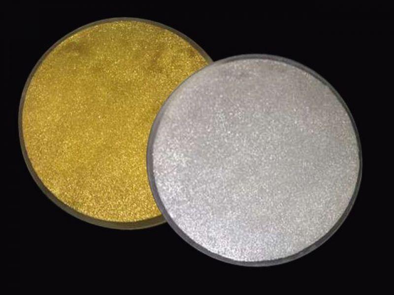 Zelta grīdas flīžu komplekts (apaļa)
