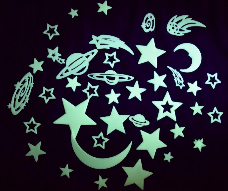 Zvaigžņu un planētu komplekts (43 vienības)